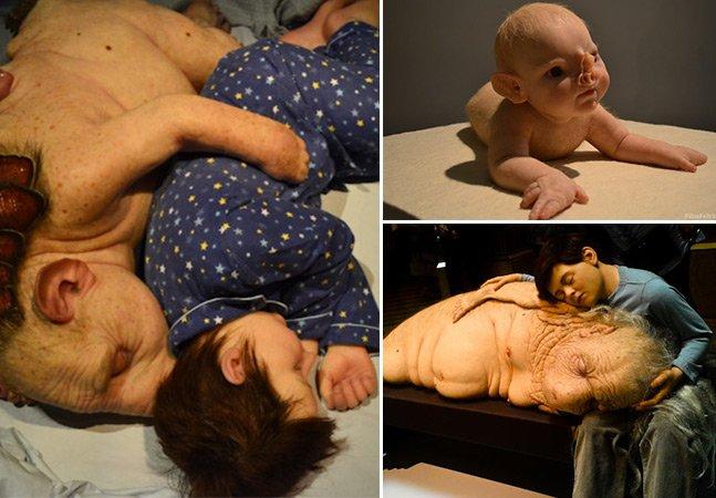 Percorremos o universo onírico das criaturas realistas de Patrícia Piccinini em exposição em SP