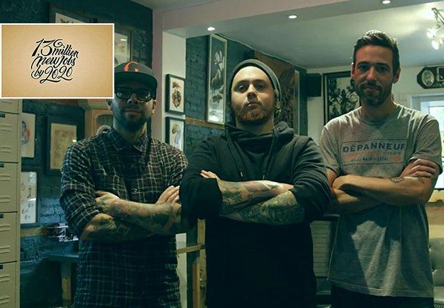 Artistas oferecem tattoos de graça para políticos que topem marcar na pele suas promessas eleitorais