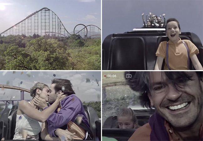Vídeo inspirador usa montanha-russa para retratar a passagem da vida