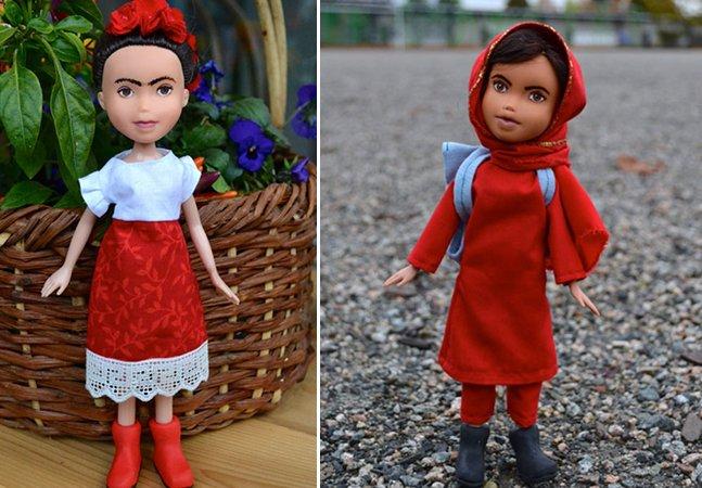 Artista transforma bonecas comuns em réplicas de mulheres inspiradoras