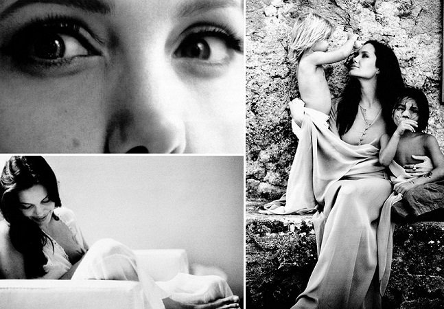 Brad Pitt revela faceta de fotógrafo com série de cliques intimistas com Angelina Jolie