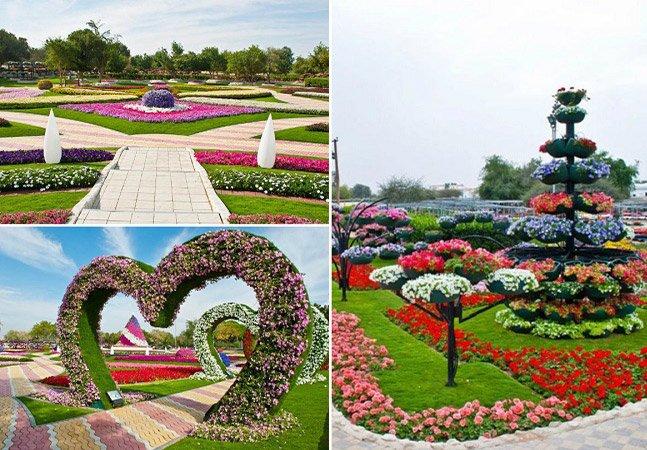 Conheça o jardim mais florido do mundo