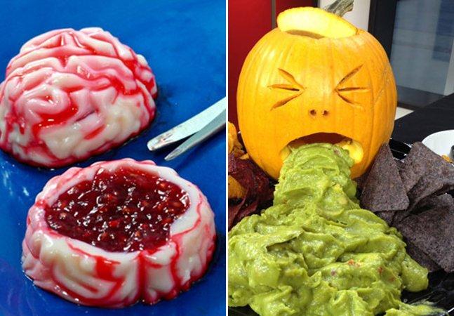 10 ideias criativas de comidas para surpreender seus amigos no Halloween