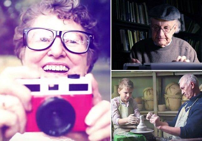 Vídeo emocionante lembra a importância dos idosos em nossas vidas