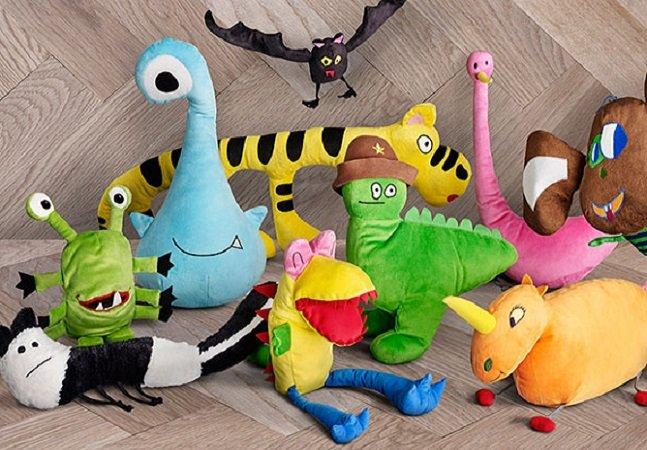 IKEA transforma desenhos de crianças em incríveis bichinhos de pelúcia