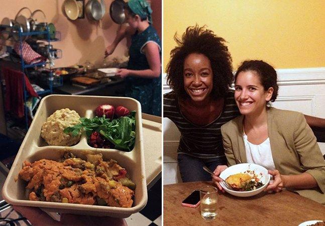 Jantar compartilhado: app permite que seus vizinhos saibam o que você vai fazer para o jantar e reservem um prato