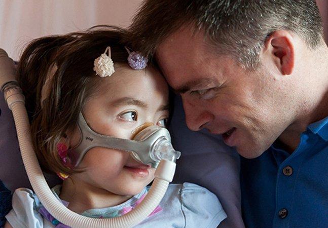 """Menina de 5 anos com doença terminal escolhe """"ir para o céu em vez de voltar para o hospital"""""""