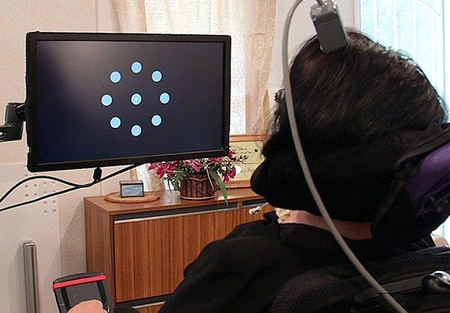 Como pessoas com paralisia conseguem controlar o cursor de um computador com a mente