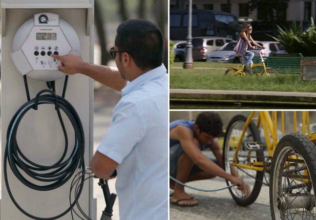Ação no Rio de Janeiro usa criatividade para incentivar o uso de bicicletas