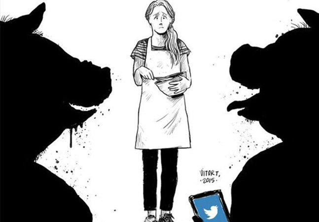 Mulheres lançam campanha no Twitter contando sobre a primeira vez em que foram assediadas