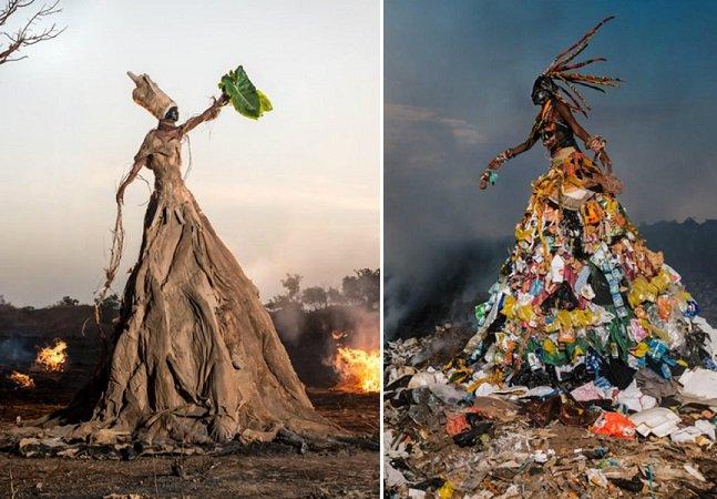 Fotógrafo cria série pertubadora para mostrar o que estamos fazendo com o ambiente