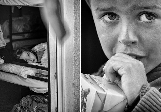 Fotógrafo cria série impactante com a chegada de refugiados à Alemanha