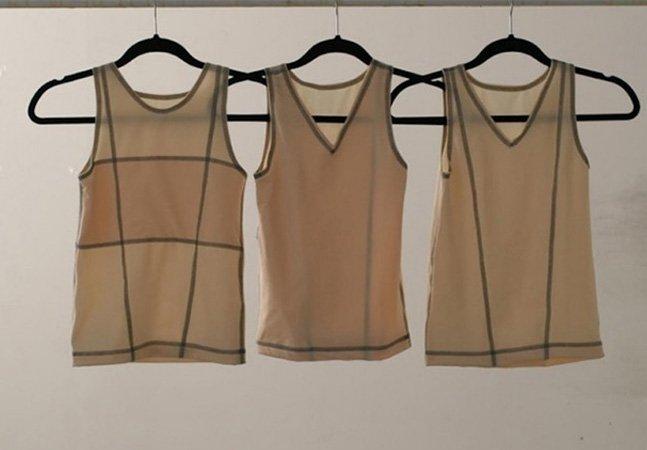 """Designers criam linha de roupas íntimas """"sem gênero"""" para ajudar pessoas trans a se assumirem socialmente"""