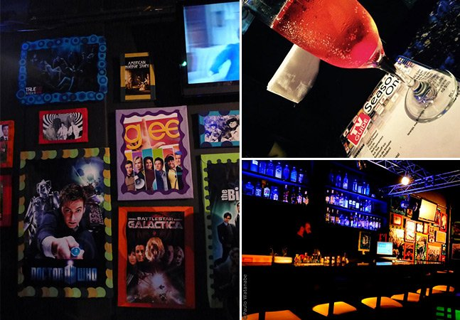 O bar temático em São Paulo feito para os amantes de seriados