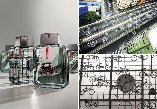 O poder transformador da arte urbana chega a linha de perfumes para inspirar o homem moderno