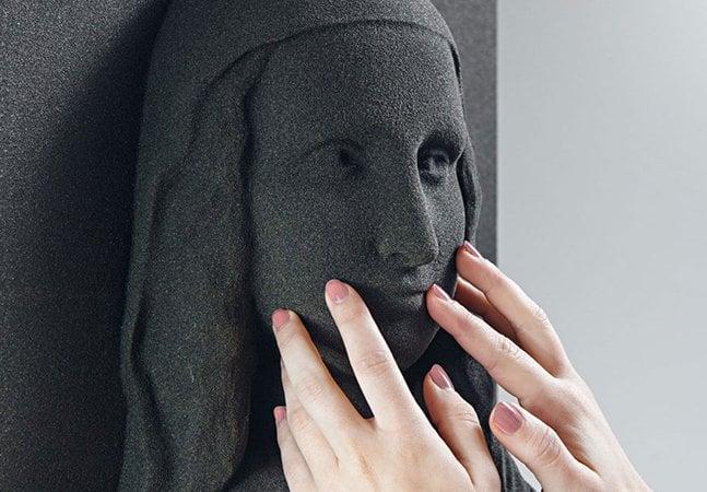 Impressora 3D permite que cegos apreciem obras de arte clássica pela primeira vez