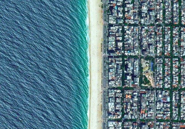 Série de fotos aéreas de cidades brasileiras mostra a beleza do país