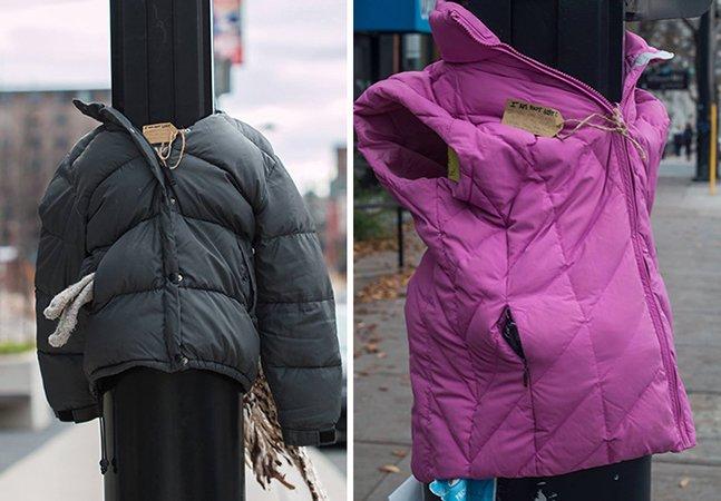 Crianças se unem para ajudar moradores de rua a combater o frio
