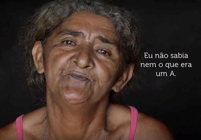 O tocante depoimento da brasileira que não tem dinheiro para um chinelo, mas vai todas as noites pra escola