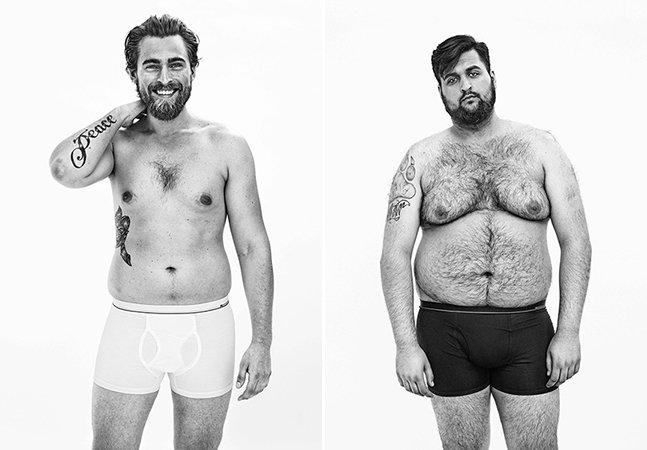 Marca inova e faz sucesso com cuecas para homens reais e de todos os tipos