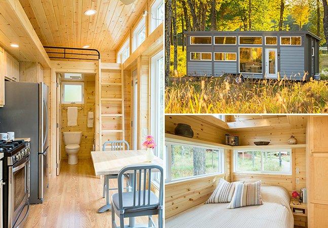 Casa minimalista onde cabem até 8 pessoas é perfeita para umas férias entre amigos