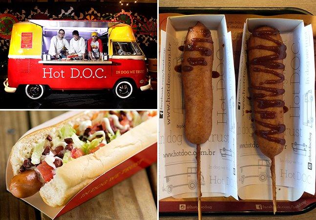 Dupla de amigos faz sucesso vendendo hot dogs de sabores inusitados em SP