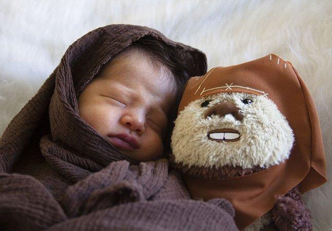 Mulher aconselhada a não ser mãe por conta de doença celebra nascimento do filho com fotos encantadoras