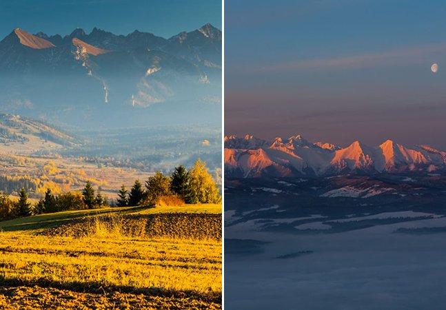 Fotógrafo sobe até as montanhas mais altas da Polônia para retratar sua beleza
