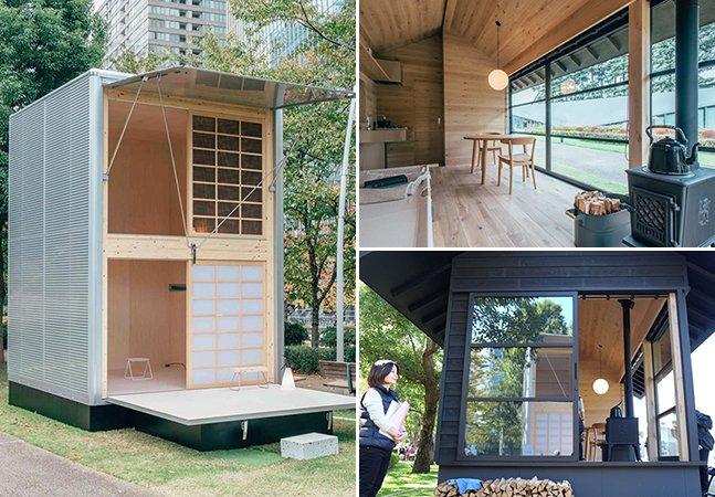 Empresa cria mini casas móveis para quem quer fugir do caos da cidade