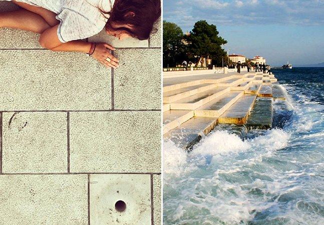 Ouça o incrível órgão na Croácia que usa as ondas do mar para dar música a quem passa