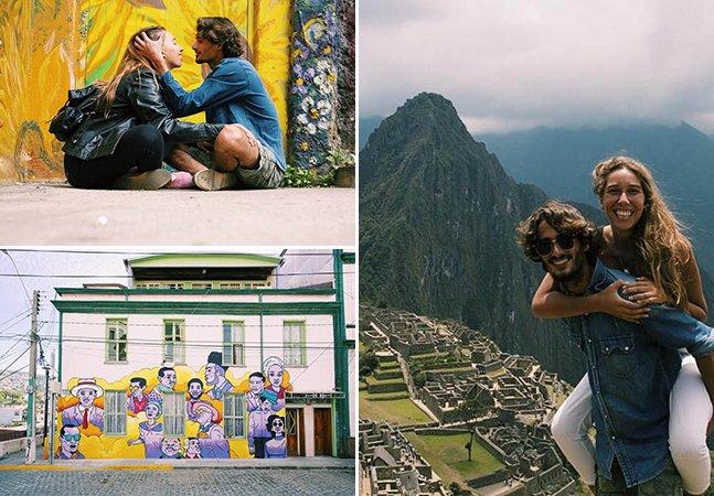 Como este casal usou seus talentos para trabalhar e viajar pelo mundo