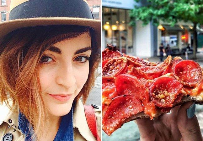 O que aconteceu com a mulher que passou 7 dias se alimentando só de pizza para emagrecer