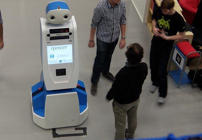 Conheça Spencer, um robô inovador que te ajuda a nunca mais perder nenhum voo