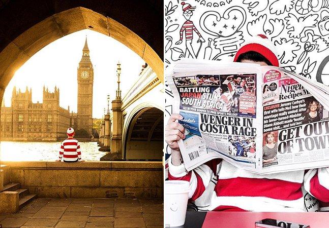 """""""Onde está o Wally?"""": Anônimo recria a famosa série com fotos encantadoras"""