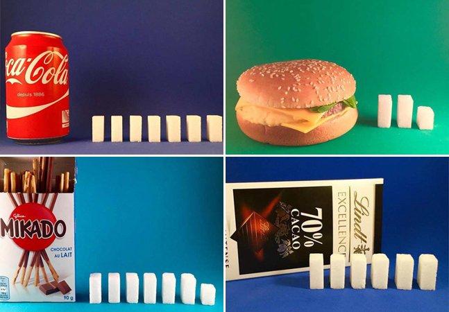 Conta no Instagram faz sucesso ao mostrar quanto de açúcar há naquilo que você come