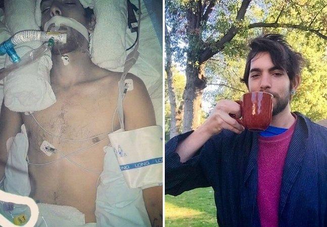 Como este jovem está usando o Instagram para recuperar a memória após um coma