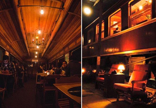 São Paulo ganha bar e restaurante num vagão de trem de 1918