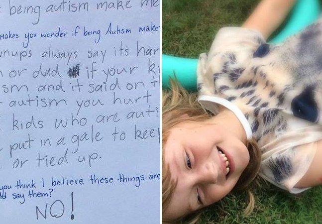 O que o mundo pode aprender com o diálogo desta menina autista com sua mãe