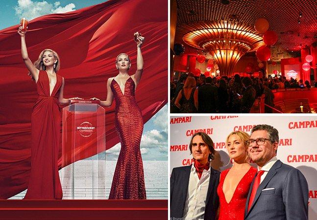 Acompanhamos o lançamento do Calendário Campari em NY com Kate Hudson