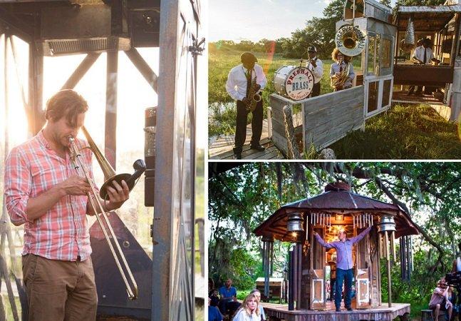 Coletivo cria casas incríveis que  viram instrumentos musicais e levam festas em casa a outro nível