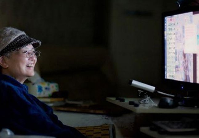"""A forma inovadora que esta mulher com ELA encontrou para """"escrever"""" um livro"""