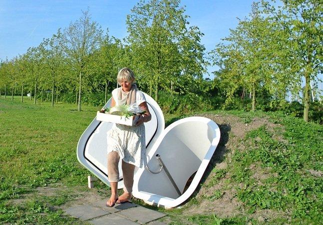Designer cria geladeira que não precisa de energia elétrica para funcionar