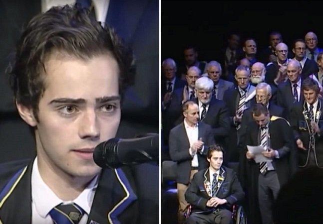 O que nos ensina este emocionante discurso de um jovem de 18 anos com câncer terminal