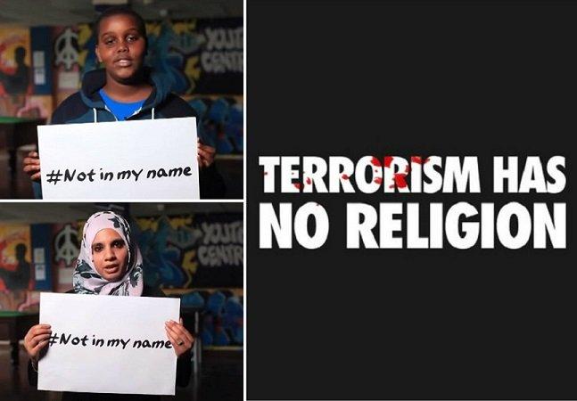 """""""Não em meu nome"""": como muçulmanos estão provando que o terrorismo não tem religião"""