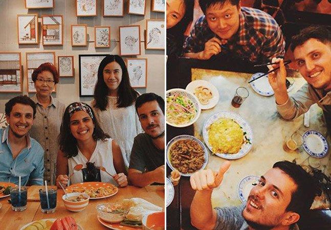 """Brasileiros participam do """"almoço de domingo"""" em casas pelo mundo para entender a cultura de cada país"""