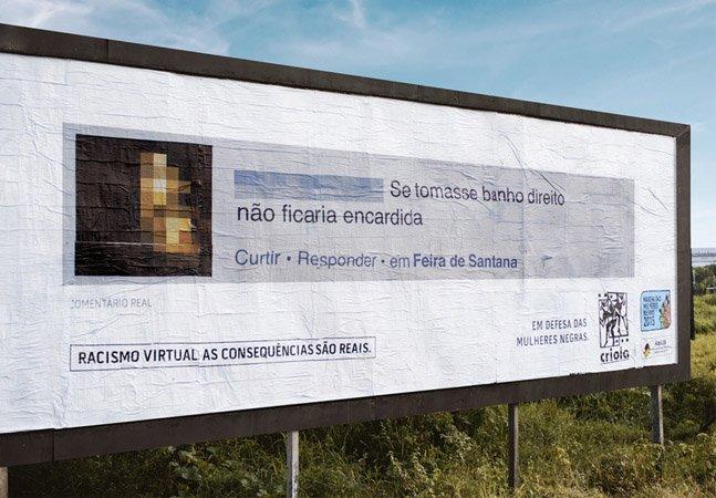 Por que esta ONG está espalhando outdoors racistas pelo Brasil