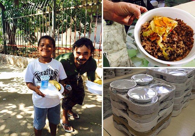 Como uma bailarina está usando comida vegana para mudar a vida de moradores de rua de SP
