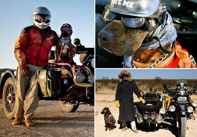 Por que este homem decidiu sair pelo mundo com seu cachorro durante 10 anos