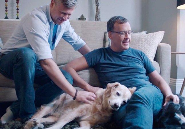 Vídeo emocionante conta histórias reais de pessoas que foram salvas pelos animais que adotaram