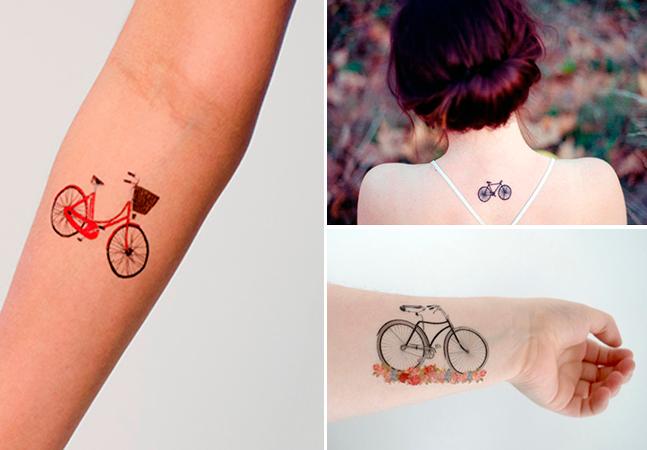 12 tatuagens de bike  para inspirar os amantes do pedal